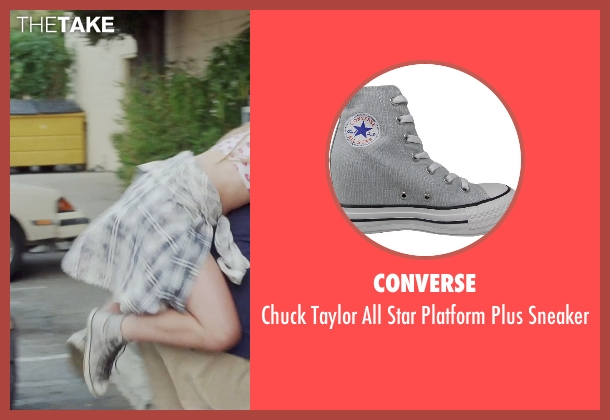 Converse gray sneaker from Tammy seen with Unknown Actor (Unknown Character)