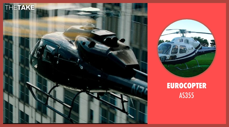 Eurocopter as355 from Teenage Mutant Ninja Turtles (2014) seen with Unknown Actor (Unknown Character)