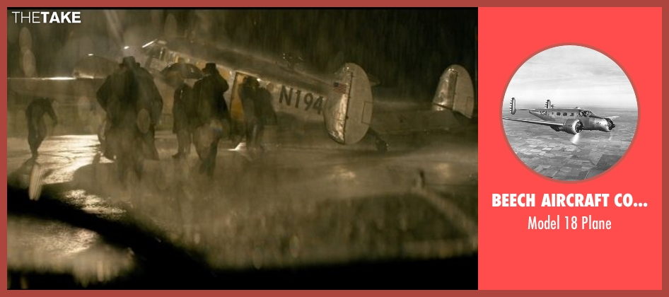 Beech Aircraft Corporation plane from The Age of Adaline seen with Unknown Actor (Unknown Character)