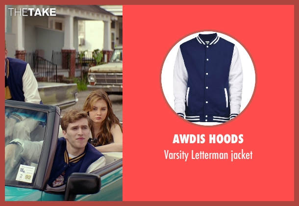 AWDis Hoods blue jacket from The Best of Me seen with Unknown Actor (Unknown Character)
