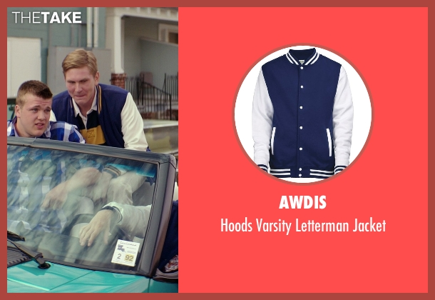 AWDis blue jacket from The Best of Me seen with Unknown Actor (Unknown Character)