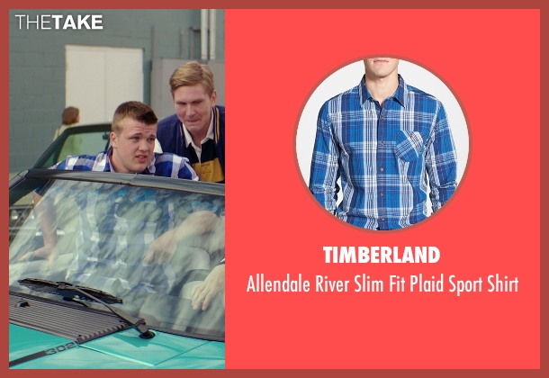 Timberland blue shirt from The Best of Me seen with Unknown Actor (Unknown Character)