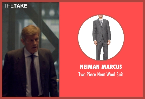 Neiman Marcus gray suit from The Counselor seen with Unknown Actor (Unknown Character)