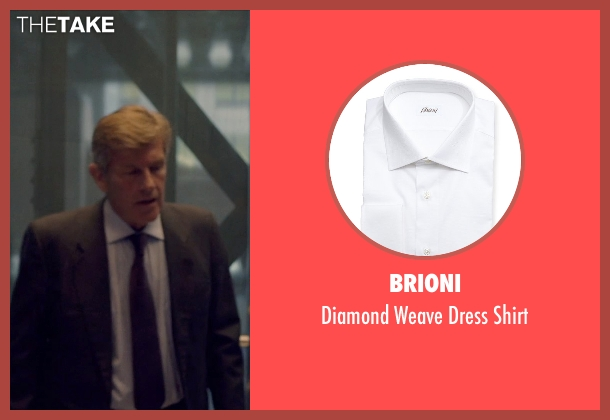 Brioni white shirt from The Counselor seen with Unknown Actor (Unknown Character)