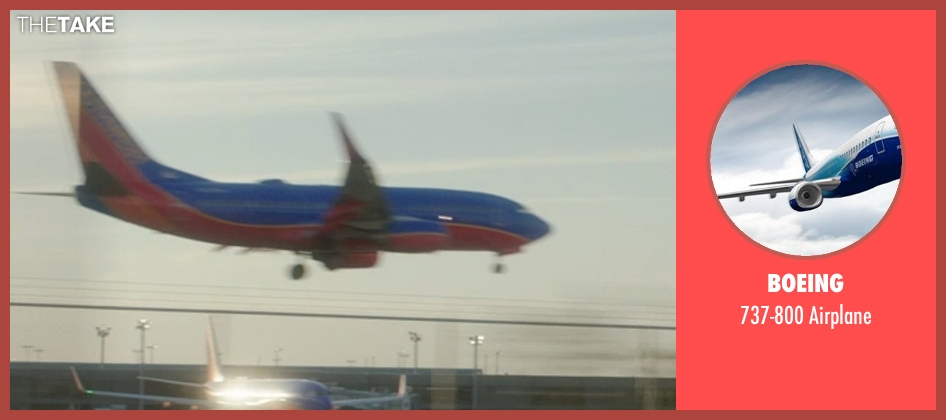 Boeing airplane from The D Train seen with Unknown Actor (Unknown Character)