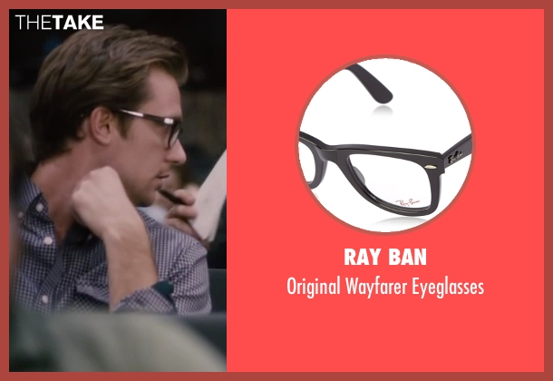 Ray Ban black eyeglasses from The Disappearance of Eleanor Rigby seen with Unknown Actor (Unknown Character)