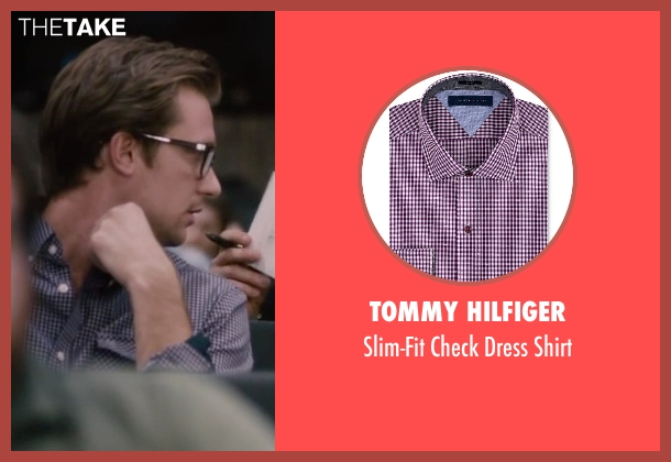 Tommy Hilfiger purple shirt from The Disappearance of Eleanor Rigby seen with Unknown Actor (Unknown Character)