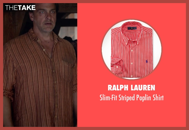 Ralph Lauren red shirt from The Divergent Series: Insurgent seen with Unknown Actor (Unknown Character)