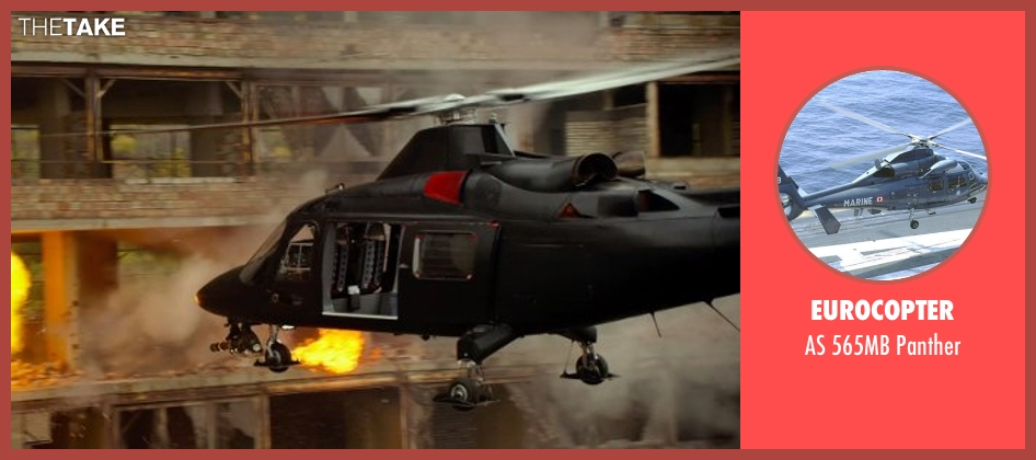 Eurocopter panther from The Expendables 3 seen with Unknown Actor (Unknown Character)