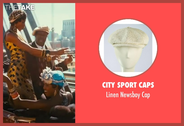 City Sport Caps beige cap from The Great Gatsby seen with Unknown Actor (Unknown Character)
