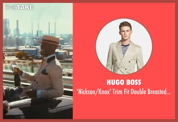 Hugo Boss beige suit from The Great Gatsby seen with Unknown Actor (Unknown Character)