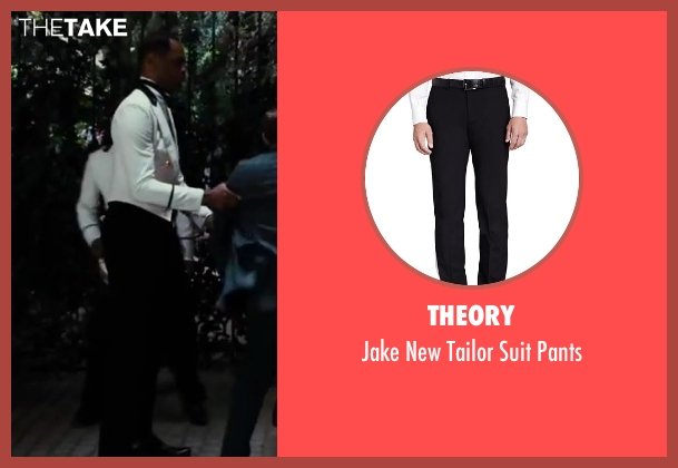 Theory black pants from The Great Gatsby seen with Unknown Actor (Unknown Character)
