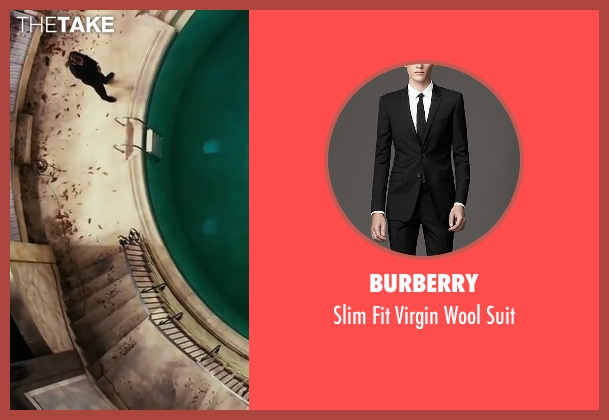 Burberry black suit from The Great Gatsby seen with Unknown Actor (Unknown Character)