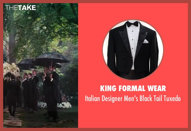 King Formal Wear black tuxedo from The Great Gatsby seen with Unknown Actor (Unknown Character)