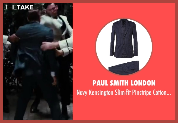 Paul Smith London blue suit from The Great Gatsby seen with Unknown Actor (Unknown Character)