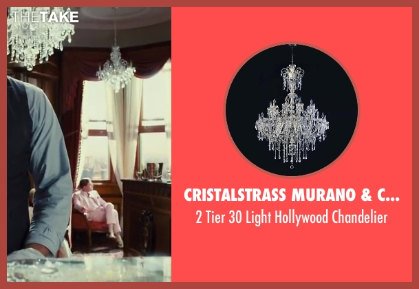 Cristalstrass Murano & Crystal chandelier from The Great Gatsby seen with Unknown Actor (Unknown Character)