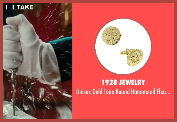 1928 Jewelry gold links from The Great Gatsby seen with Unknown Actor (Unknown Character)