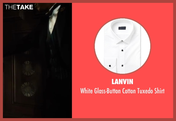 Lanvin white shirt from The Great Gatsby seen with Unknown Actor (Unknown Character)