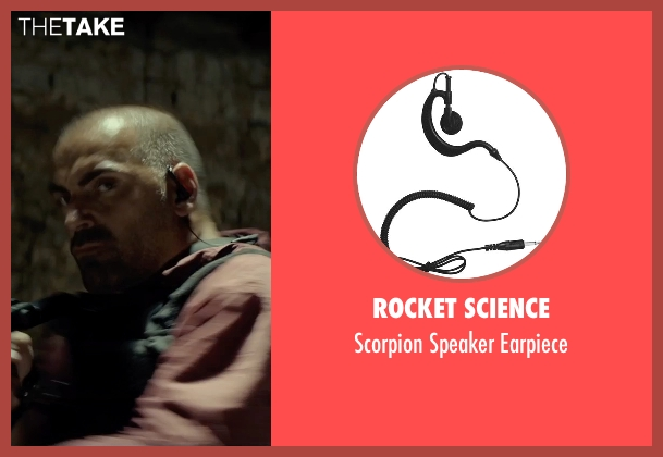 Rocket Science earpiece from The Gunman seen with Unknown Actor (Unknown Character)
