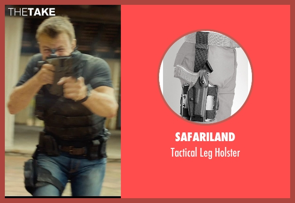 Safariland holster from The Gunman seen with Unknown Actor (Unknown Character)