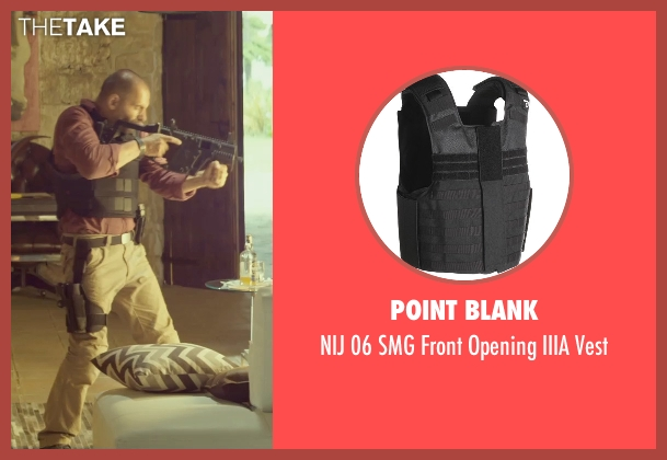 Point Blank vest from The Gunman seen with Unknown Actor (Unknown Character)