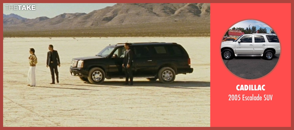 Cadillac suv from The Hangover seen with Unknown Actor (Unknown Character)