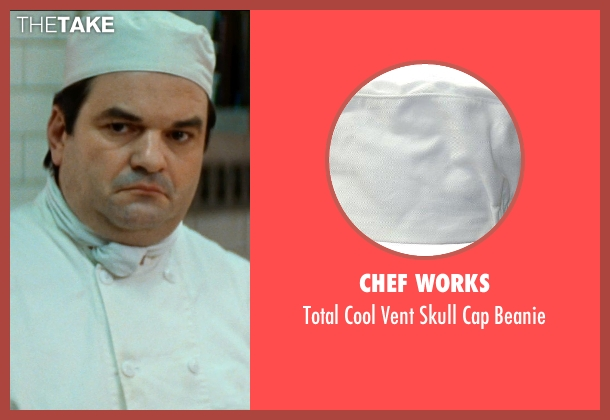 Chef Works beanie from The Hundred-Foot Journey seen with Unknown Actor (Unknown Character)