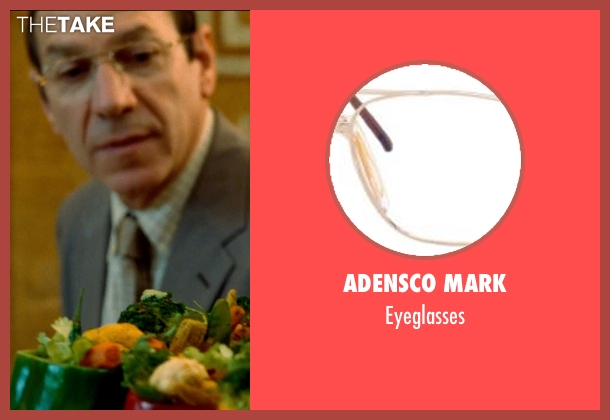 Adensco Mark eyeglasses from The Hundred-Foot Journey seen with Unknown Actor (Unknown Character)