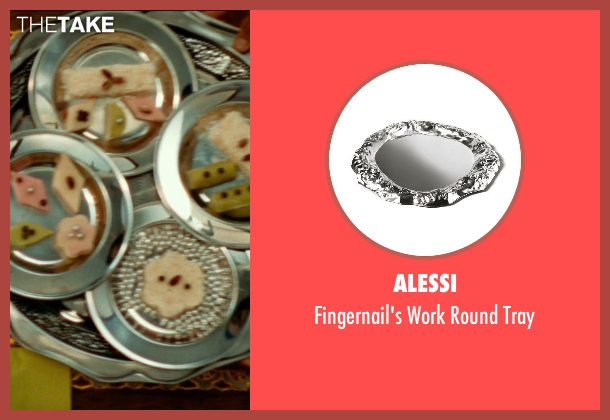 Alessi tray from The Hundred-Foot Journey seen with Unknown Actor (Unknown Character)