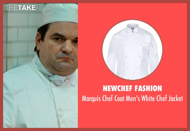 Newchef Fashion white jacket from The Hundred-Foot Journey seen with Unknown Actor (Unknown Character)