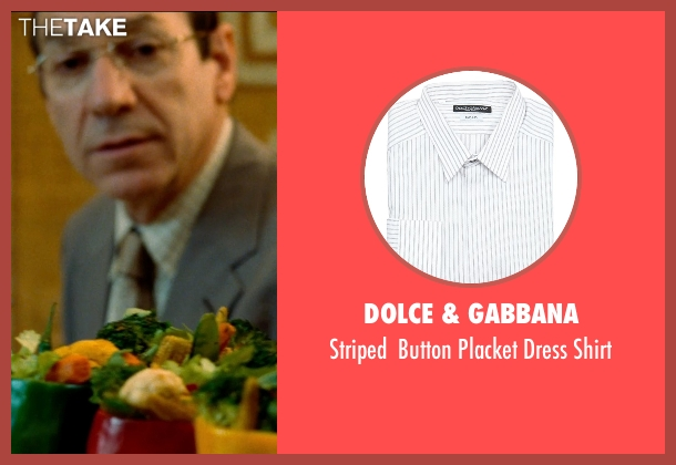 Dolce & Gabbana white shirt from The Hundred-Foot Journey seen with Unknown Actor (Unknown Character)