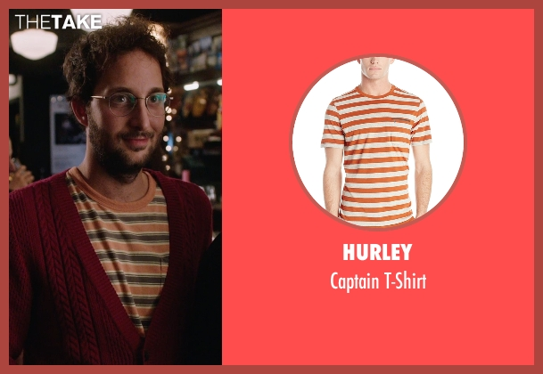 Hurley orange t-shirt from The Intern seen with Unknown Actor (Unknown Character)