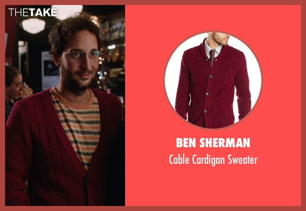 Ben Sherman red sweater from The Intern seen with Unknown Actor (Unknown Character)