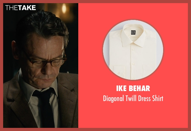 Ike Behar beige shirt from The Man from U.N.C.L.E. seen with Unknown Actor (Unknown Character)