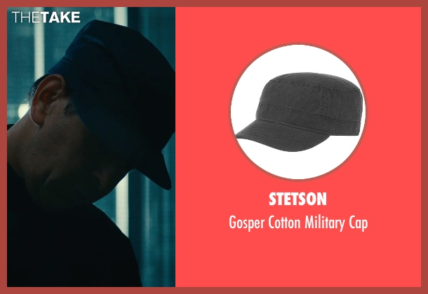 Stetson black cap from The Man from U.N.C.L.E. seen with Unknown Actor (Unknown Character)