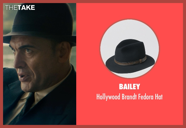 Bailey black hat from The Man from U.N.C.L.E. seen with Unknown Actor (Unknown Character)