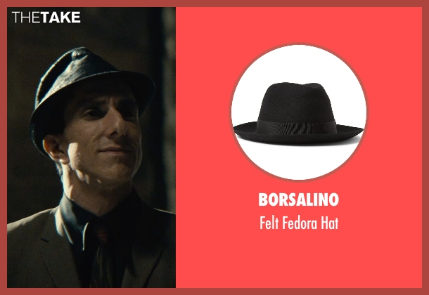 Borsalino black hat from The Man from U.N.C.L.E. seen with Unknown Actor (Unknown Character)