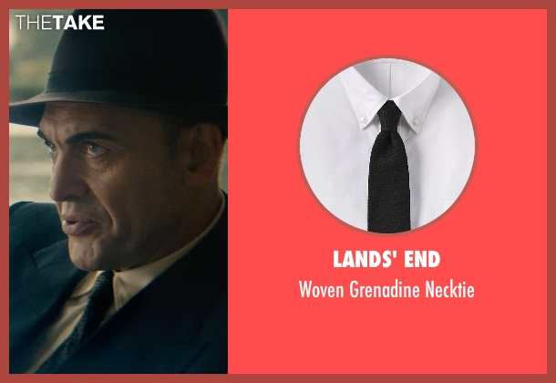 Lands' End black necktie from The Man from U.N.C.L.E. seen with Unknown Actor (Unknown Character)