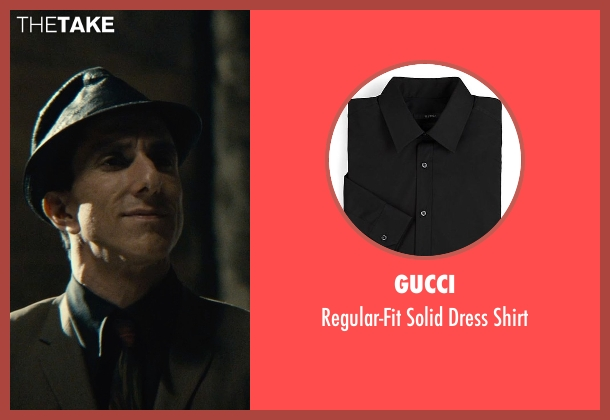 Gucci black shirt from The Man from U.N.C.L.E. seen with Unknown Actor (Unknown Character)