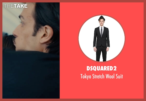 Dsquared2 black suit from The Man from U.N.C.L.E. seen with Unknown Actor (Unknown Character)