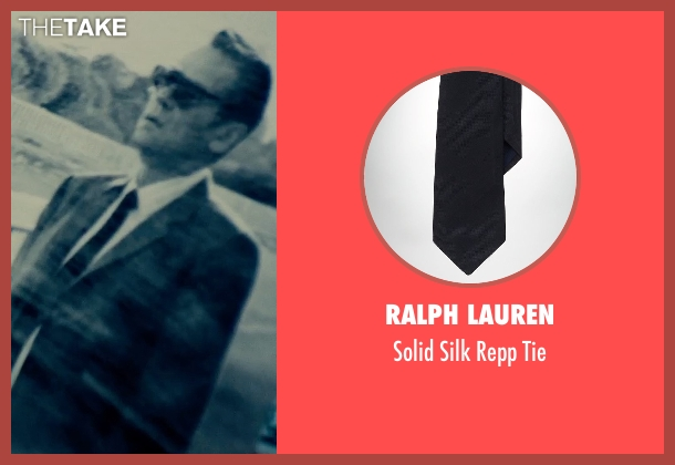 Ralph Lauren black tie from The Man from U.N.C.L.E. seen with Unknown Actor (Unknown Character)