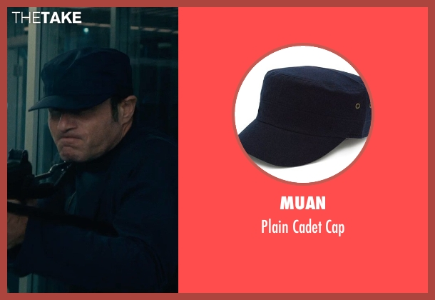 Muan blue cap from The Man from U.N.C.L.E. seen with Unknown Actor (Unknown Character)