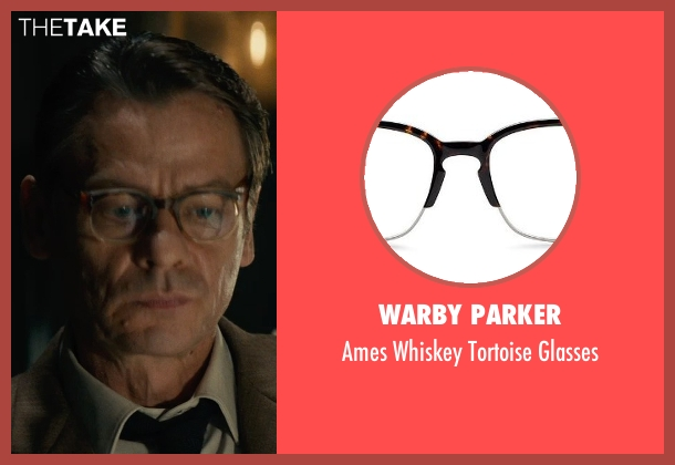 Warby Parker brown glasses from The Man from U.N.C.L.E. seen with Unknown Actor (Unknown Character)