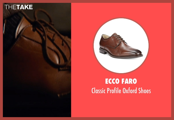 Ecco Faro brown shoes from The Man from U.N.C.L.E. seen with Unknown Actor (Unknown Character)