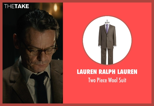 Lauren Ralph Lauren brown suit from The Man from U.N.C.L.E. seen with Unknown Actor (Unknown Character)