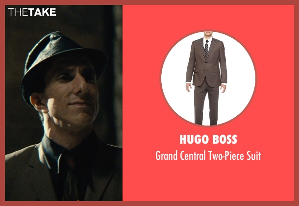 Hugo Boss brown suit from The Man from U.N.C.L.E. seen with Unknown Actor (Unknown Character)