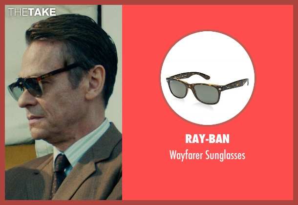 Ray-Ban brown sunglasses from The Man from U.N.C.L.E. seen with Unknown Actor (Unknown Character)