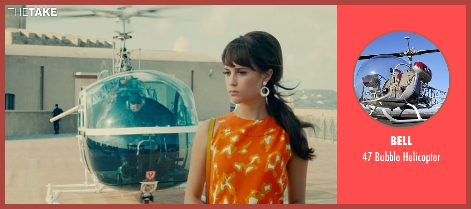Bell helicopter from The Man from U.N.C.L.E. seen with Unknown Actor (Unknown Character)