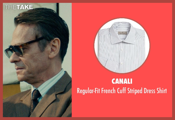 Canali white shirt from The Man from U.N.C.L.E. seen with Unknown Actor (Unknown Character)