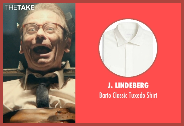 J. Lindeberg white shirt from The Man from U.N.C.L.E. seen with Unknown Actor (Unknown Character)